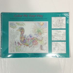 Color Me Your Way New in Package 26 Illustrations